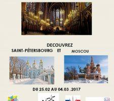 du 25 février au 4 mars: Séjour en Russie