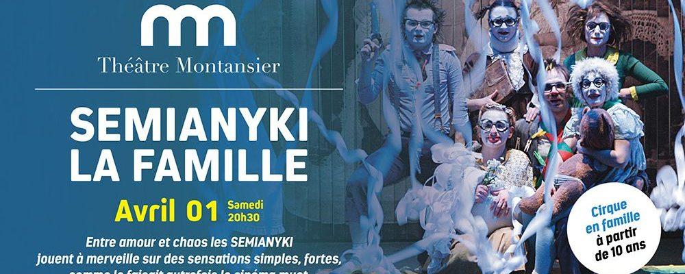 Samedi 1er avril à 20h30: Théâtre Semianyki à Versailles